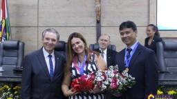 Entrega Medalha de Honra ao Mérito ao Colégio Criativo